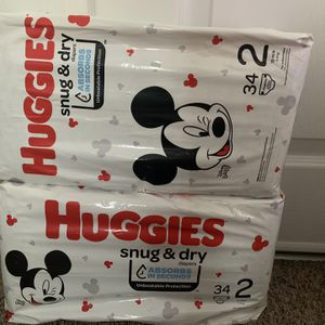 Huggies Size 2 , 34 Count for Sale in Las Vegas, NV