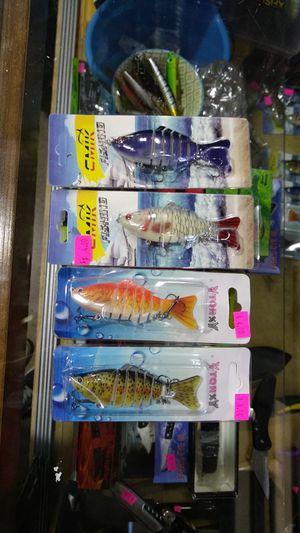 FISHING LURE FISHING ROD FISHING BAIT TACKLE LURE for Sale in Phoenix, AZ