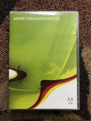 Adobe Dreamweaver CS3 For Windows + Creative Suite Video Workshop for Sale in Bellevue, WA