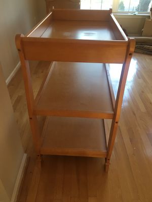 Changing table. Solid wood. for Sale in Fairfax, VA