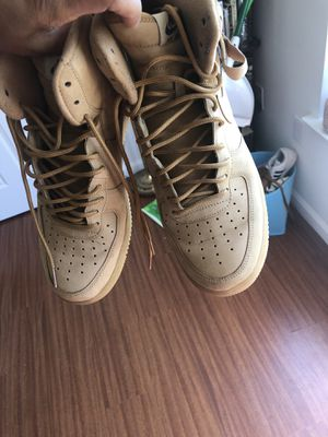 "Air Force One High ""Wheat"" Size 10.5 for Sale in Farmville, VA"