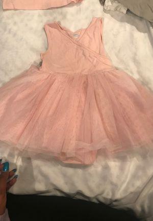 Pink dress with tutu bottom for Sale in Arlington, VA
