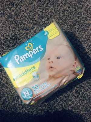 Pampers Newborn Diapers for Sale in Brooklyn, OH