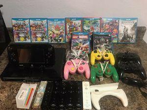 Wii U + Wii for Sale in Gardena, CA