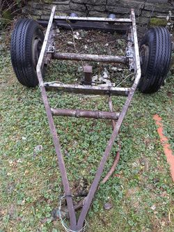 Small Trailer. Metal Frame. Lights , Good Tires for Sale in Everett,  WA