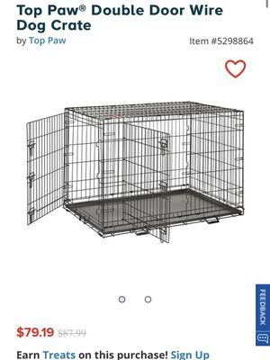 """48"""" dog crate for Sale in Rancho Cucamonga, CA"""