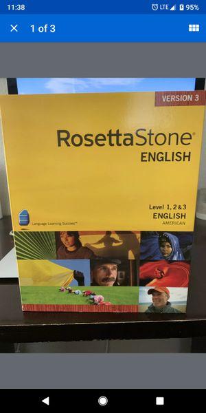 Rosetta Stone English for Sale in Harlingen, TX