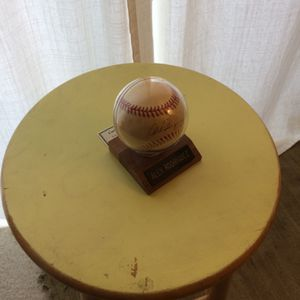 Alex Rodriguez Autographed A.L. Baseball for Sale in Seattle, WA