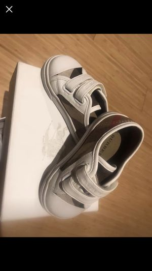 Burberry Toddler Sneakers for Sale in Jersey City, NJ