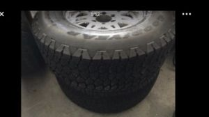"""17"""" Tacoma Alloy Rims GoodYear Tires for Sale in Annandale, VA"""