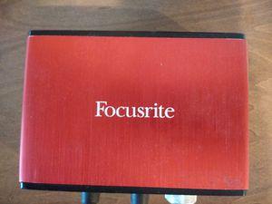 Focusrite Scarlett Solo for Sale in San Diego, CA