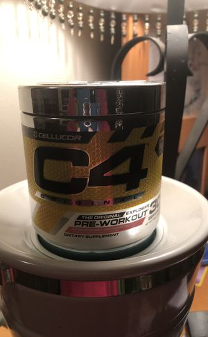 C4 pre workout- strawberry margarita for Sale in Mount Airy, MD