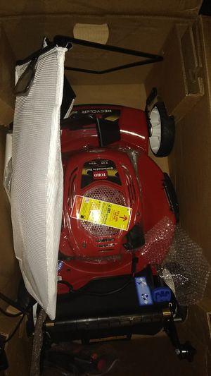 Toro lawn mower with electric start for Sale in San Lorenzo, CA