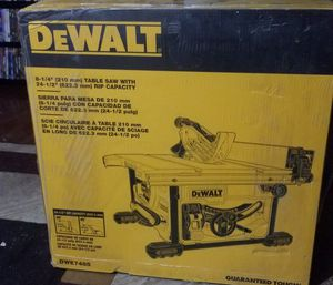 Dealt table saw for Sale in Albuquerque, NM