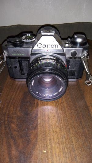 VINTAGE CANON ae1 Program Film Camera w/ Kodak BW film for Sale in S CHESTERFLD, VA