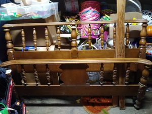Full size bed frame for Sale in North Attleborough, MA