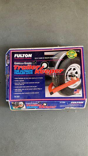 Fulton trailer keeper for Sale in Encinitas, CA