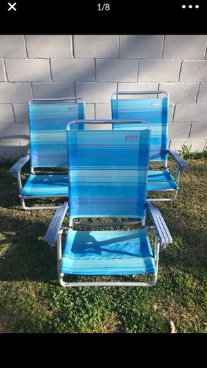 Fold out beach chairs for Sale in Whittier, CA