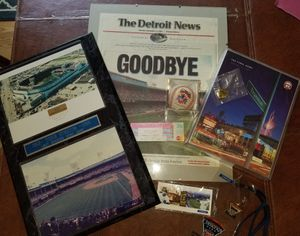 Tiger Stadium to Comerica Park for Sale in Lambertville, MI