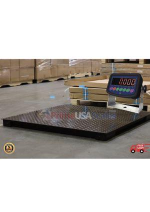 "48"" x 48"" Floor Scale 10,000 x 0.5 lbs Heavy Duty Platform for Sale in Allenton, WI"
