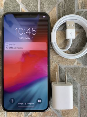 iPhone X factory unlocked 64gb for Sale in Watertown, MA