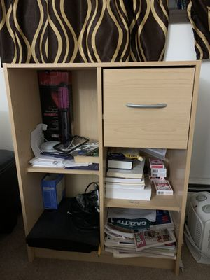 Storage shelves with drawer for Sale in Minneapolis, MN