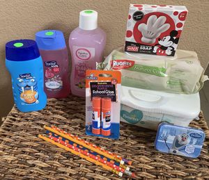Kids bundle, 9 items all new and unused for Sale in Plano, TX