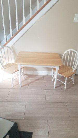 Kids table with chairs for Sale in East Brunswick, NJ