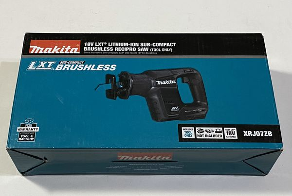 Makita 18-Volt LXT Lithium-Ion Sub-Compact Brushless Cordless Reciprocating Saw XRJ07ZB
