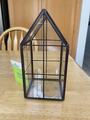 Small Glass House (Farmhouse Decor) for Sale in Riverside, CA