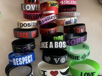 Silicone Bracelets for Sale in Daly City,  CA