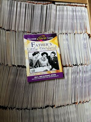 560 New DVDs Father's Little Dividend 1951 Elizabeth Taylor Classic Film for Sale in York, PA