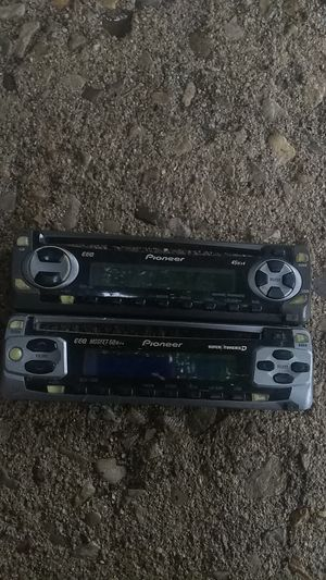 Pioneer Radio Face 2 for $15 or 1 for $10 for Sale in Columbus, OH