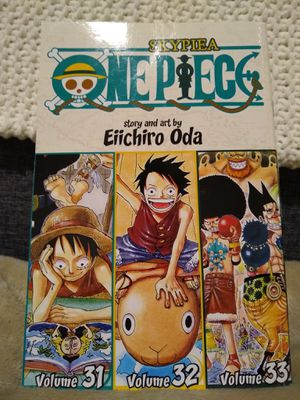 One Piece Volumes 31-32-33 three in one collection for Sale in Chicago, IL