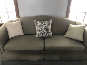 Camel back couch for Sale in West Chicago, IL