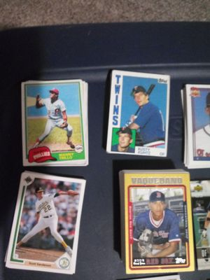 Collection of Baseball Cards (Some Football Cards) 1981 - 2006 for Sale in Oklahoma City, OK
