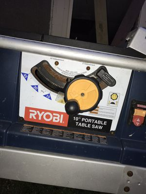 "Roybi 10"" Portable Table Saw for Sale in Hannibal, MO"