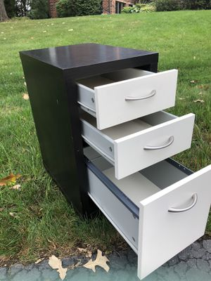 Wood File Cabinet for Sale in Lemont, IL