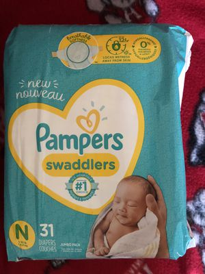 70 newborn diapers for Sale in Cumming, GA