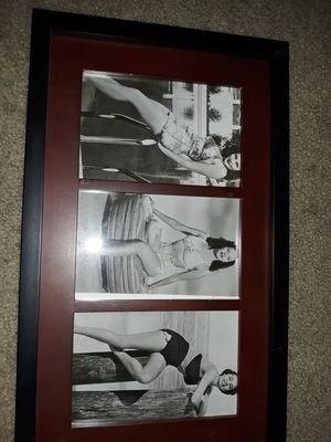 1950s black and white photos three for Sale in Rock Island, IL