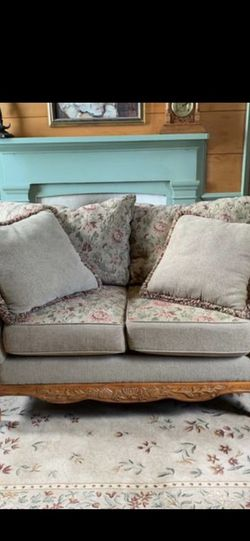 Sofa Loveseat with reversible cushions for Sale in Tacoma,  WA
