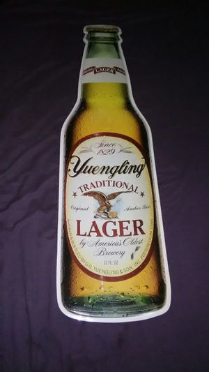Yuengling Metal Wall Decor for Sale in Parkersburg, WV