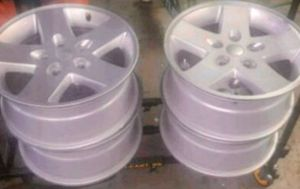 Rims with adapter 5x114 for Sale in The Bronx, NY