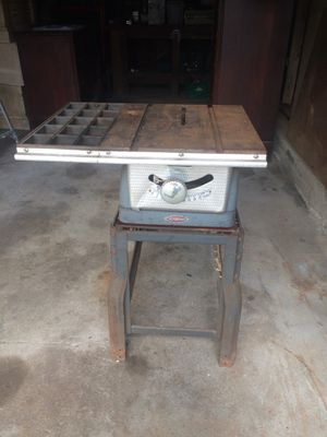 Vintage Craftsman Table Saw for Sale in Greenville, RI