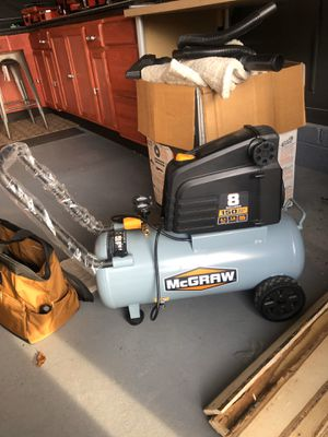 Air compressor and extras for Sale in Ewing Township, NJ