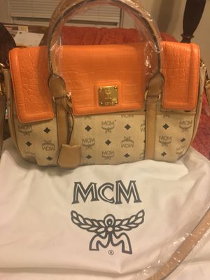 Brand new Authentic MCM bag. Very unique color. for Sale in Washington, DC