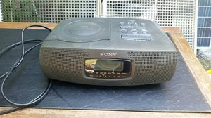 Sony Radio Alarm CD Player for Sale in Dallas, TX
