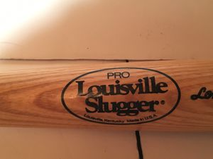 Genuine Pro Louisville Slugger Wooden Baseball Bat for Sale in Raleigh, NC