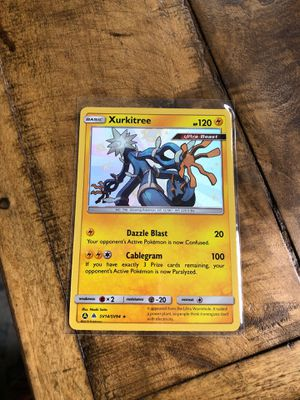 Pokemon Hidden Fates Shiny Xurkitree for Sale in Swatara, PA