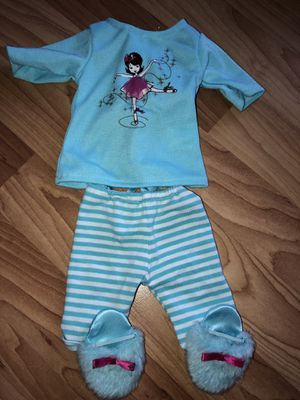 Doll pajamas fits American Girl Doll & Our Generation for Sale in Lakeside, CA